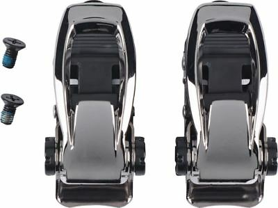 Burton Binding Ankle Buckle Set Black - Spare Parts