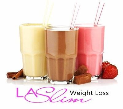 50 VLCD LA Slim Diet Shakes Meal Replacement Porridge Oats For Quick Weight Loss