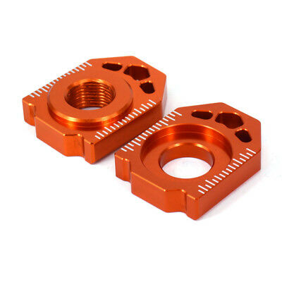 Rear Chain Adjuster Axle Block For KTM SX XC SXF 85 125-450 EXC XCF XC-W 125-530