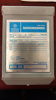 General Electric Dry-Type Autotransformer 1.2Kva 9T51B5605