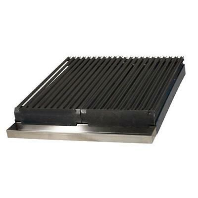 Portable Add On Char Broiler For 4 Burner Range Stove