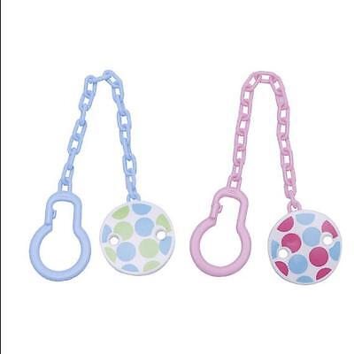 Girl Baby Pacifier Toddler Toy Infant Dummy Soother Boy Chain Clip Hot Holder