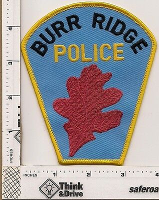 Burr Ridge Police. llinois.