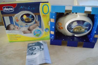 CHICCO LULLABY CLOUD NIGHT LIGHT BABY COT TOY WITH MUSIC ex cond