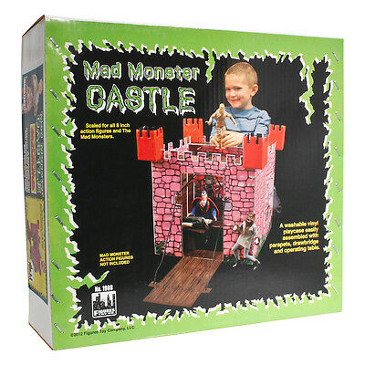 Mego Replica Mad Monster Castle Playset by Figures Toy Company