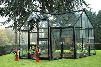 "10'3"" x 13' Janssens Junior Victorian Orangerie Greenhouse - Free Shipping"