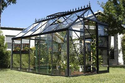 "7'8"" x 12'6"" Janssens Junior Victorian Greenhouse - Free Shipping"