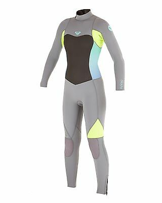 NEW ROXY™  Girls 2-14 Syncro 4/3mm GBS Steamer Wetsuit Teens Surf