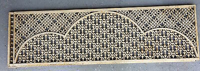 FRETWORK MOORISH, BARLEY TWIST, ROPE LIKE, STICK BALL, VICTORIAN ANTIQUE -1800's