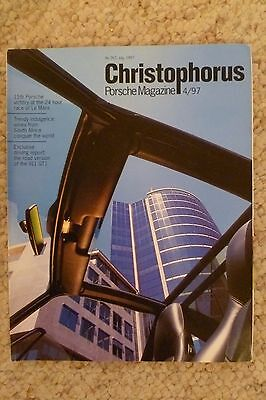 Porsche Christophorus Magazine English #267 July 1997 RARE!! Awesome L@@K