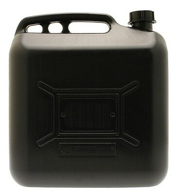 Black Plastic Diesel Can - 20 Litre Cosmos 03305 New