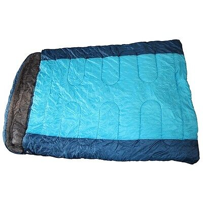 Collina Double Sleeping Bag - Blue 610004 Royal New