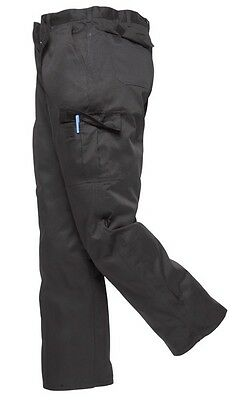 111 Blk Combat Trousers Reg Leg W46 C701BKR46 Portwest New