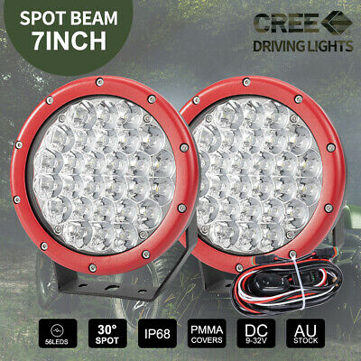 9 Inch 2700W New CREE LED Spot Driving Lights Off Road 4X4WD Work Spotlights