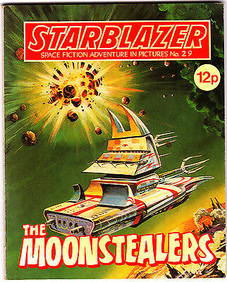Starblazer #29 , Space Fiction Adventure , Jul 1980 , DC Thompson , VERY FINE