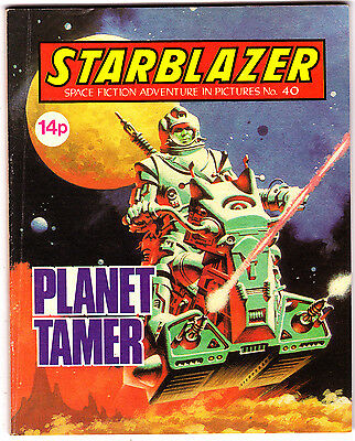 Starblazer #40 , Space Fiction Adventure , Jan 1981 , DC Thompson , VERY FINE