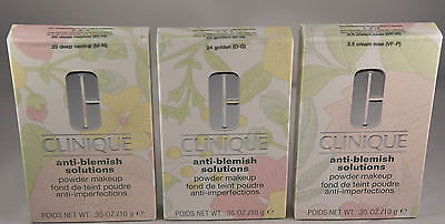 Clinique Anti Blemish Solutions Powder 10g - 20 Deep Neutral - 100 % Authentic
