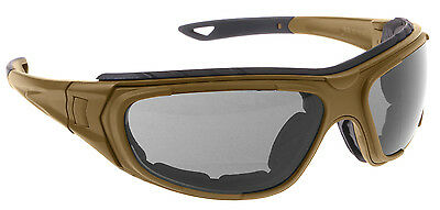 tactical coyote brown optical interchangeable goggle system rothco 10388