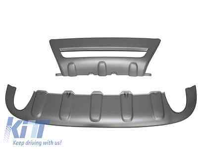 Skid Plates Volvo XC60 08-13 Alu Look Front/Back Bumper SkidPlates Off Road