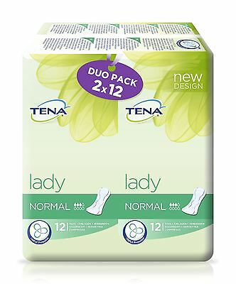 Tena Lady Normal Duo Pack 2x12 Pads