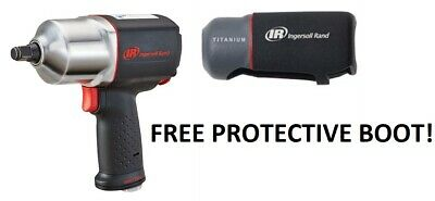 """Ingersoll Rand IRT 2135QXPA 1/2"""" Drive Quiet Impact Wrench Gun with FREE Boot"""