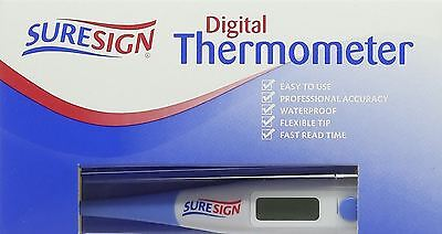 Suresign Digital Thermometer | Easy To Use | Fast Read Time  - 2 Pack