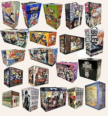 Manga Anime Naruto One Piece Nausicca Pokemon One Punch Tokyo Goul Box Set NEW