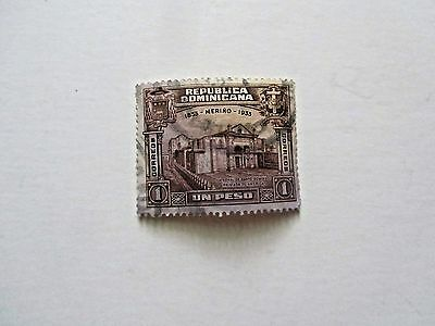Dominican Republic, High value of set, Cathedral of Santo Domingo, 1933, Used/F