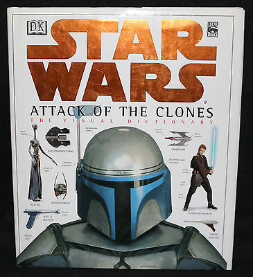 Star Wars: Attack of the Clones Visual Dictionary Hardcover (VF) 2002