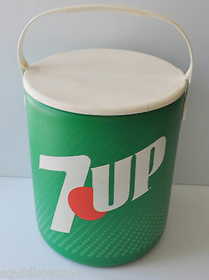 7UP SODA vintage COOLER Hamilton Skotch 1970s 7-UP