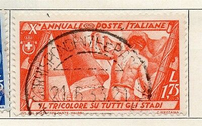 Italy 1932 Early Issue Fine Used 1.75L. 091254