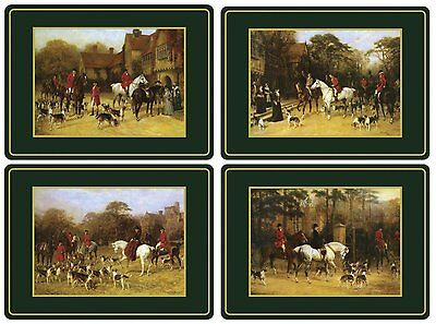 Pimpernel Tally Ho Placemats - Set of 4 Large