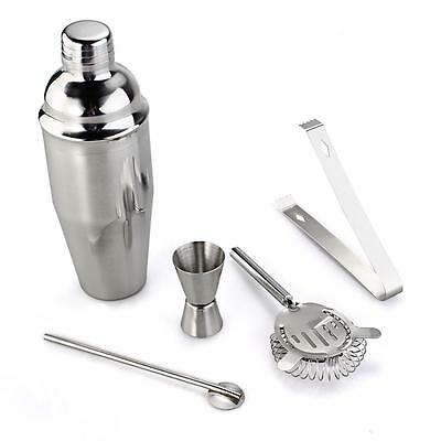 Set Cocktail Shaker in Acciaio inossidabile per Bar Cucina Casa Original
