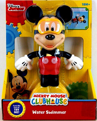 Disney Mickey Mouse Clubhouse Water Swimmer,pool & Bath Swimming Toy,kids 18M+