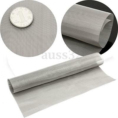 11.8'' Stainless Steel 100 Mesh Wire Cloth Screen Water Filtration Filter Sheet