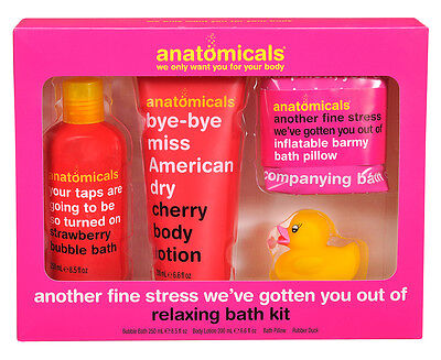 Anatomicals Another Fine Stress We've Gotten You Out Of 4-Piece Relaxing Bath Ki