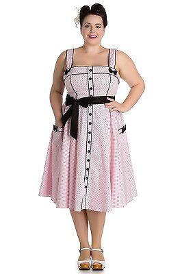 b188e42ff877e Plus Size Hell Bunny Gothic Steampunk Vintage 50s Circle Swing Dress  Rockabilly