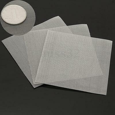 3x Stainless Steel 50 Mesh Micron True Fine Screen Filtration Filter 3.9x3.9''