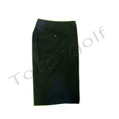 Tommy Hilfiger Ladies Golf Bermuda Short-Black-US 6=UK 8/10-TW612-New.