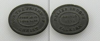 Collectable 1771 Communion Token - Falkirk Relief Church