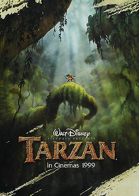 Tarzan (1999) V2 - A1/A2 POSTER **BUY ANY 2 AND GET 1 FREE OFFER**