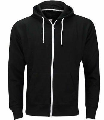New Mens Hoodies Boys Plus Size Sweatshirt Hooded Zip Warm Fleece Nouvelle