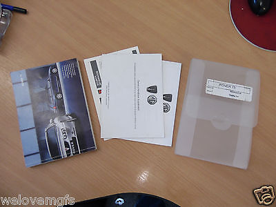 ROVER 75 MK2  Owners Handbook / Manual Service Book, Supplements & Case
