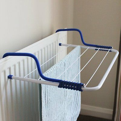 JVL Airer Folding Clothes Radiator White 3M