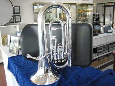 New Demo King 2280Sp Silver Plated Four Valve Euphonium With Warranty!