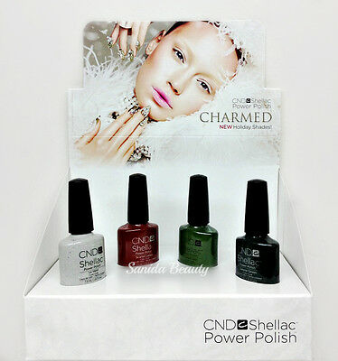 CND Gel Polish .25oz- Pick any Color From CHARMED Collection- Shellac NO BOX