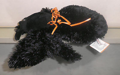 """Russ 12"""" Eeks the Creeping Spider - Sound, LED Red Eyes, Crawls - Halloween NWT"""