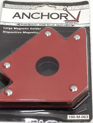 "Magnetic Square 4"" Multi Purpose Magnetic Arrow Head Holder M-063 - set of 2"