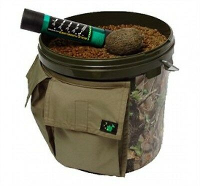 Thinking Anglers Carp Fishing Solid Double Bucket Pocket ONLY