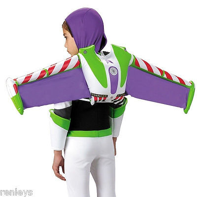 Buzz Lightyear Jet Pack Inflatable Costume Wings Child Kids Disney Toy Story